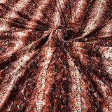 Red Snake Skin - Fabric Styles