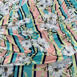 5A Floral Soft Touch Fabric