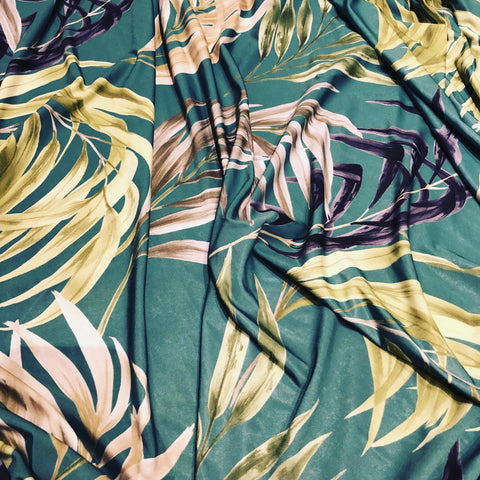 Tropical Green Floral