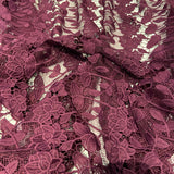 112. Purple Lace | Fabric Styles