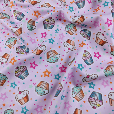 FS175 Pink Cupcakes | Fabric Styles