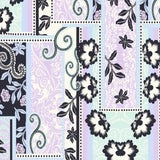 FS309 Lilac Paisley Print | Fabric Styles