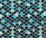 FS931 Mermaid Scales Cotton