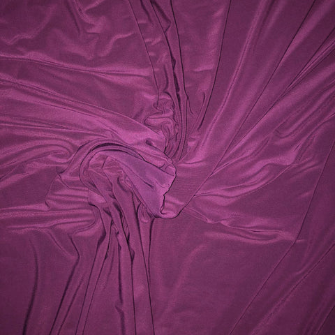 Purple ITY Fabric