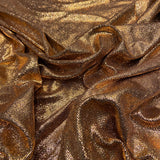 57. Sparkly nylon Bronze | Fabric Styles
