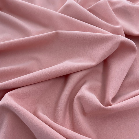 FS134_23 Baby Pink Scuba Crepe