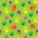 FS272 Paint Handprint | Fabric Styles