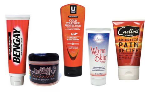 Best warming creams and lotions