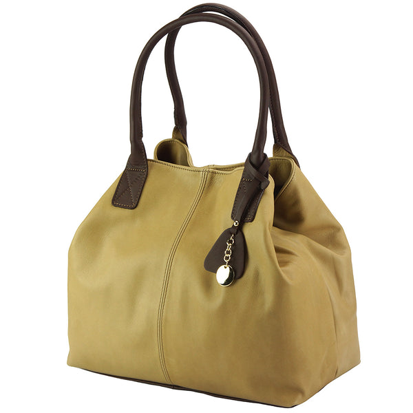 Vincenza leather tote bag