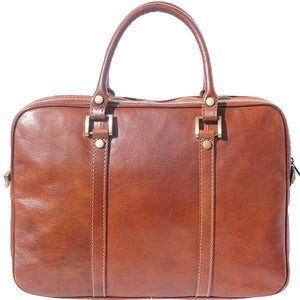Voyage business leather bag