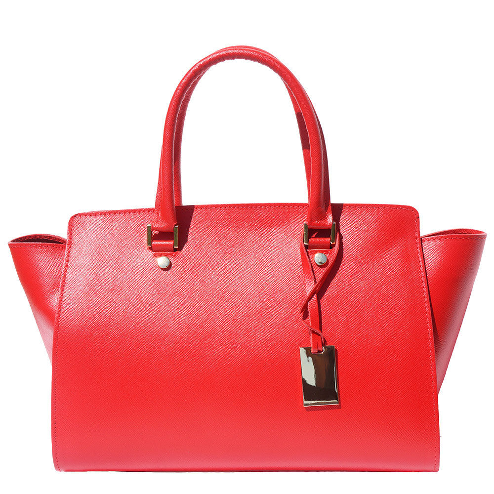 Nicoletta leather handbag