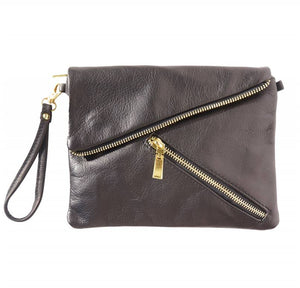 Alexa Leather Clutch