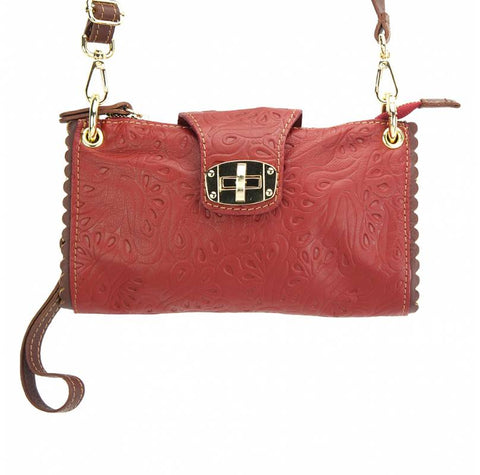 Be Exclusive S leather clutch