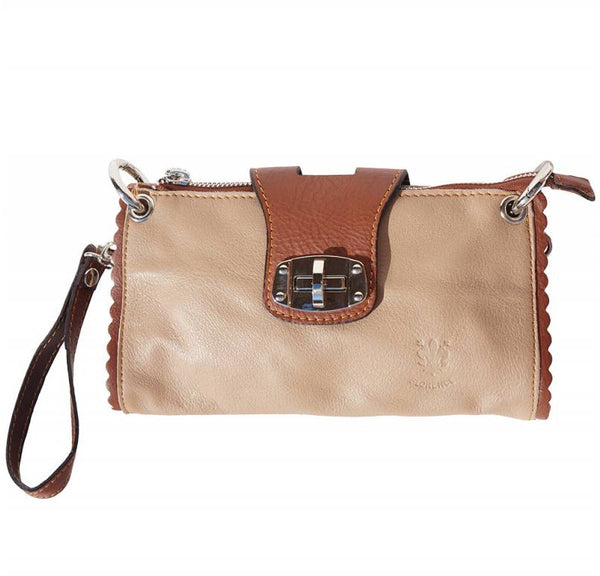 Be Exclusive leather clutch