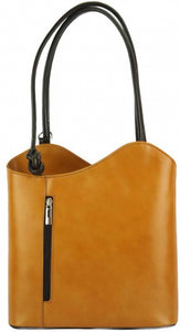 Cloe leather shoulder bag