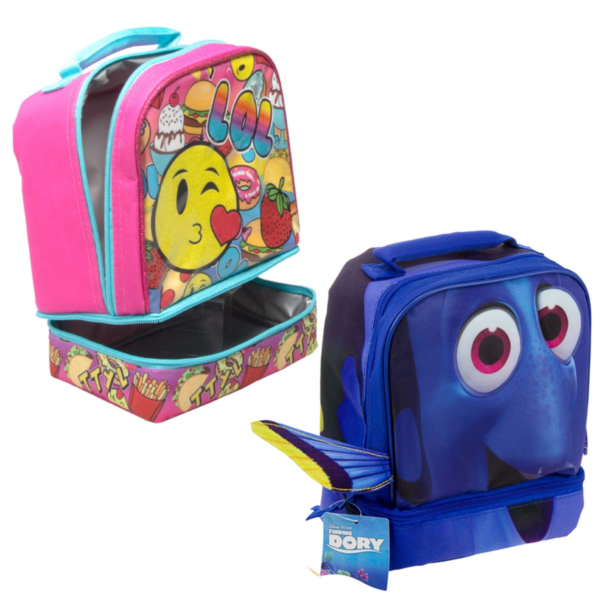 Kids 2-Section Insulated Lunch Bag - All Your Favorite Characters