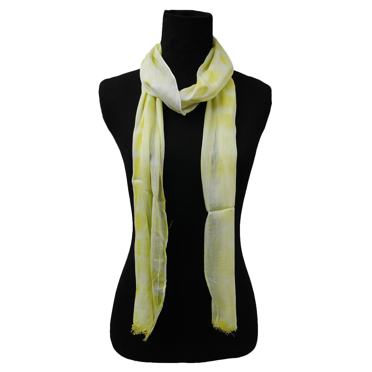 Lightweight Yellow Long Scarf