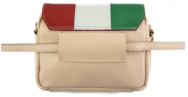 Maria Waist/Shoulder bag in calfskin leather