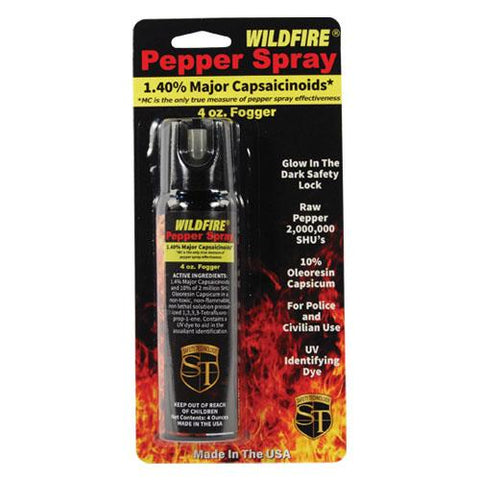 WildFire 1.4% MC 4 oz pepper spray fogger