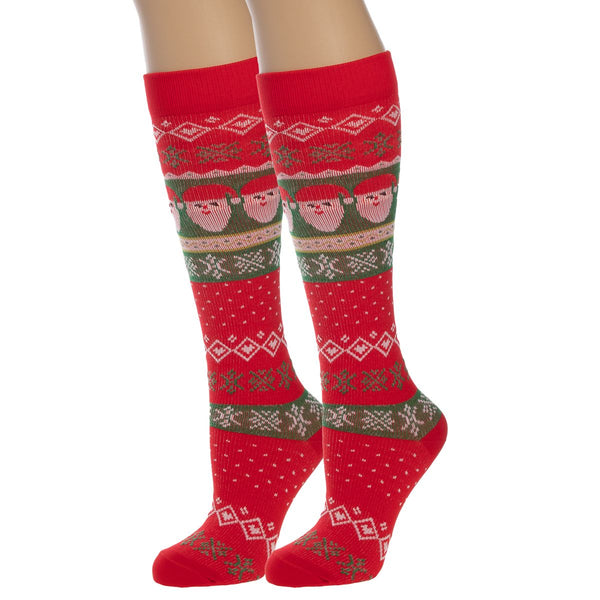 Women's Compression Socks By Xertia - Festive Christmas Designs