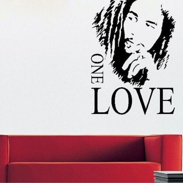 bob marley sticker design