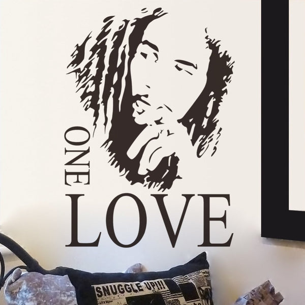 bob marley stickers for wall