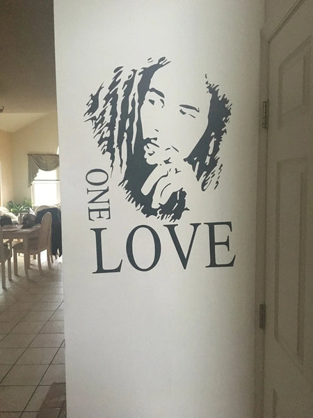 jamaican singer wall sticker