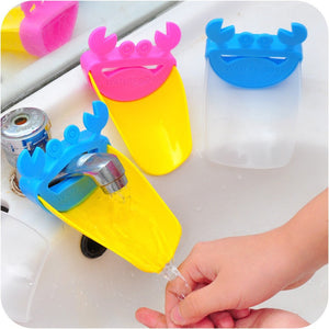 Set Of 3 Bathroom Sink Faucet Water Extender Assistant Hand Washing For Kids or Toddlers