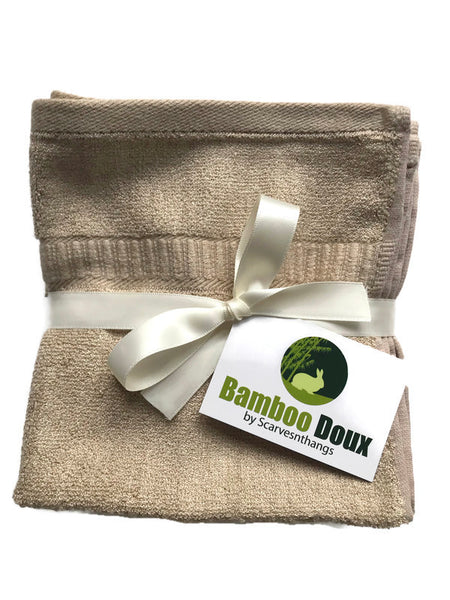 Bamboo washcloth ecofriendly