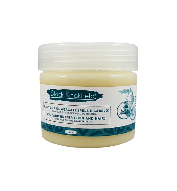 BLACK KHAKHELA - Hair and Body Butter: Manteiga para Cabelo e Pele (150ml)