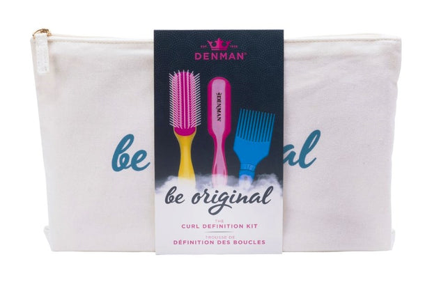 DENMAN Curl Definition - Kit da Denman para Crespas e Cacheadas (BE ORIGINAL)