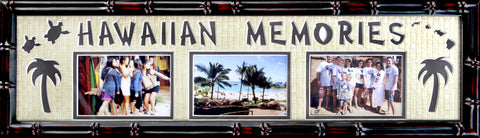3 Hawaiian Memories  7 x 28