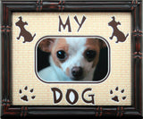 "My Dog Photo Mat with 1 photo opening, 8""x10"""