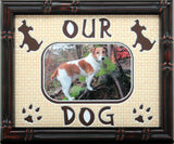 Our Dog Mat 8x10