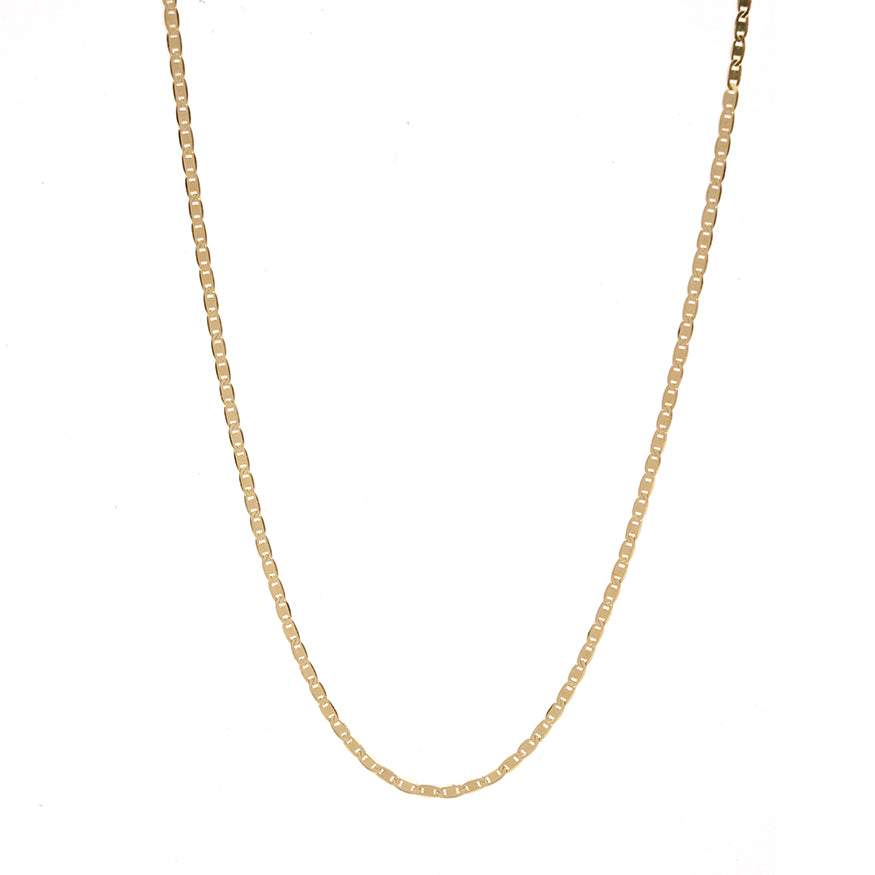 Flat Weave Chain Necklace