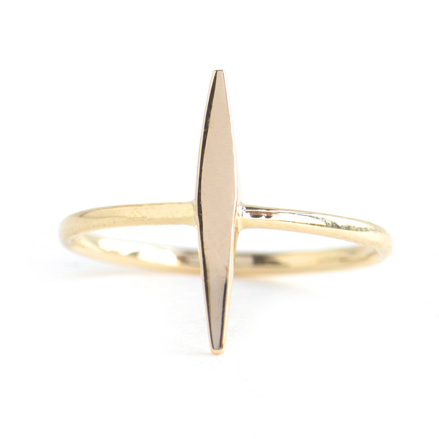 Gold Dart Ring