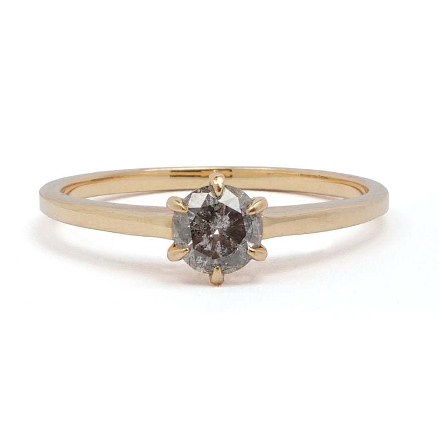 Galaxy Diamond Solitaire Ring