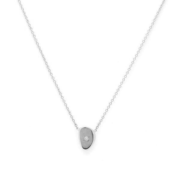 Shiny Pebble Necklace