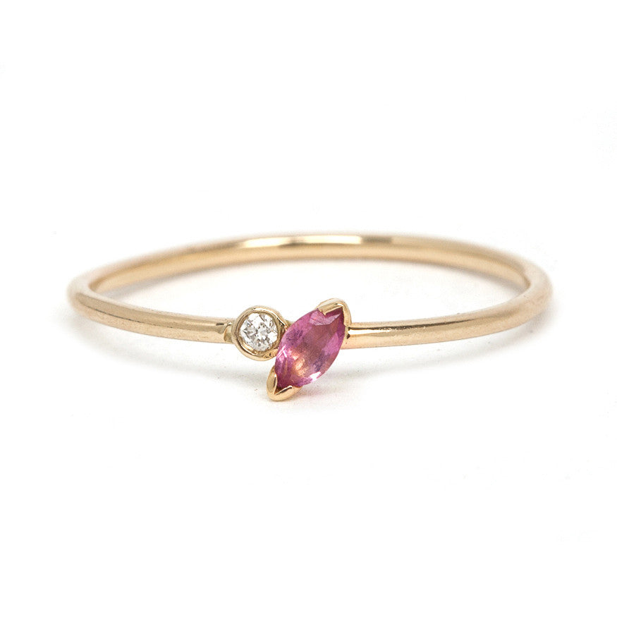 The Marquise Tourmaline Ring