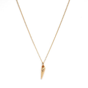 Mini Auger Shell Necklace