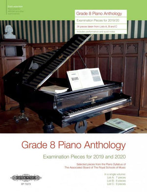 ABRSM Grade 8 Piano Anthology for 2019-20
