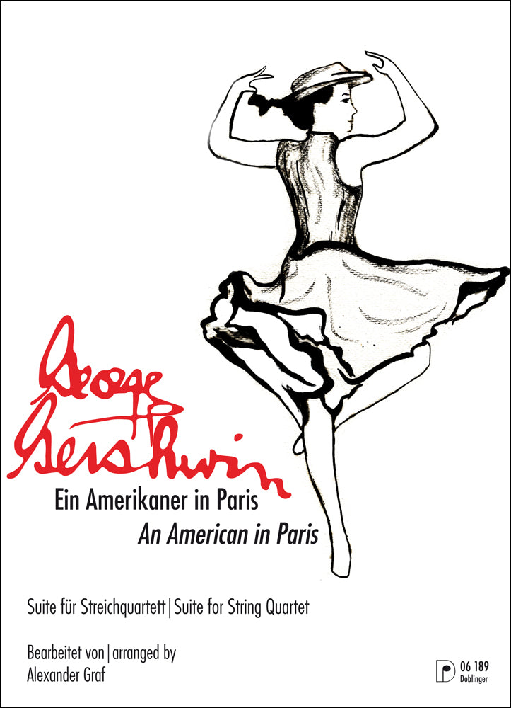 Gershwin: An American in Paris (arr. for string quartet)