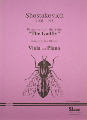 "Shostakovich: Romance from ""The Gadfly"" (arr. for viola)"