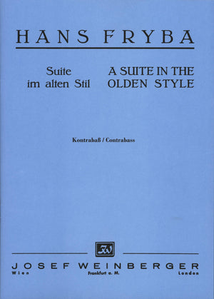 Fryba: Suite in the Olden Style