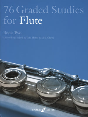 76 Graded Studies for Flute - Book 2