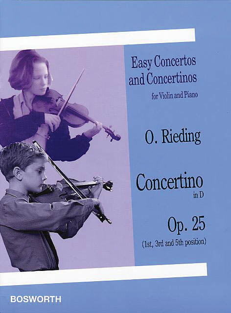 Rieding: Concertino in D Major, Op. 25