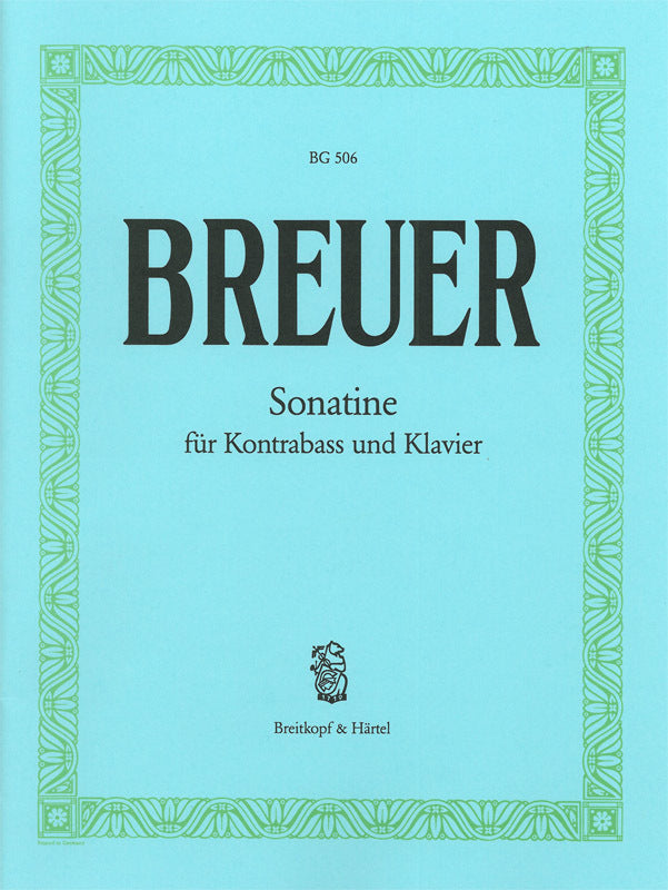 Breuer: Sonatina in E Major