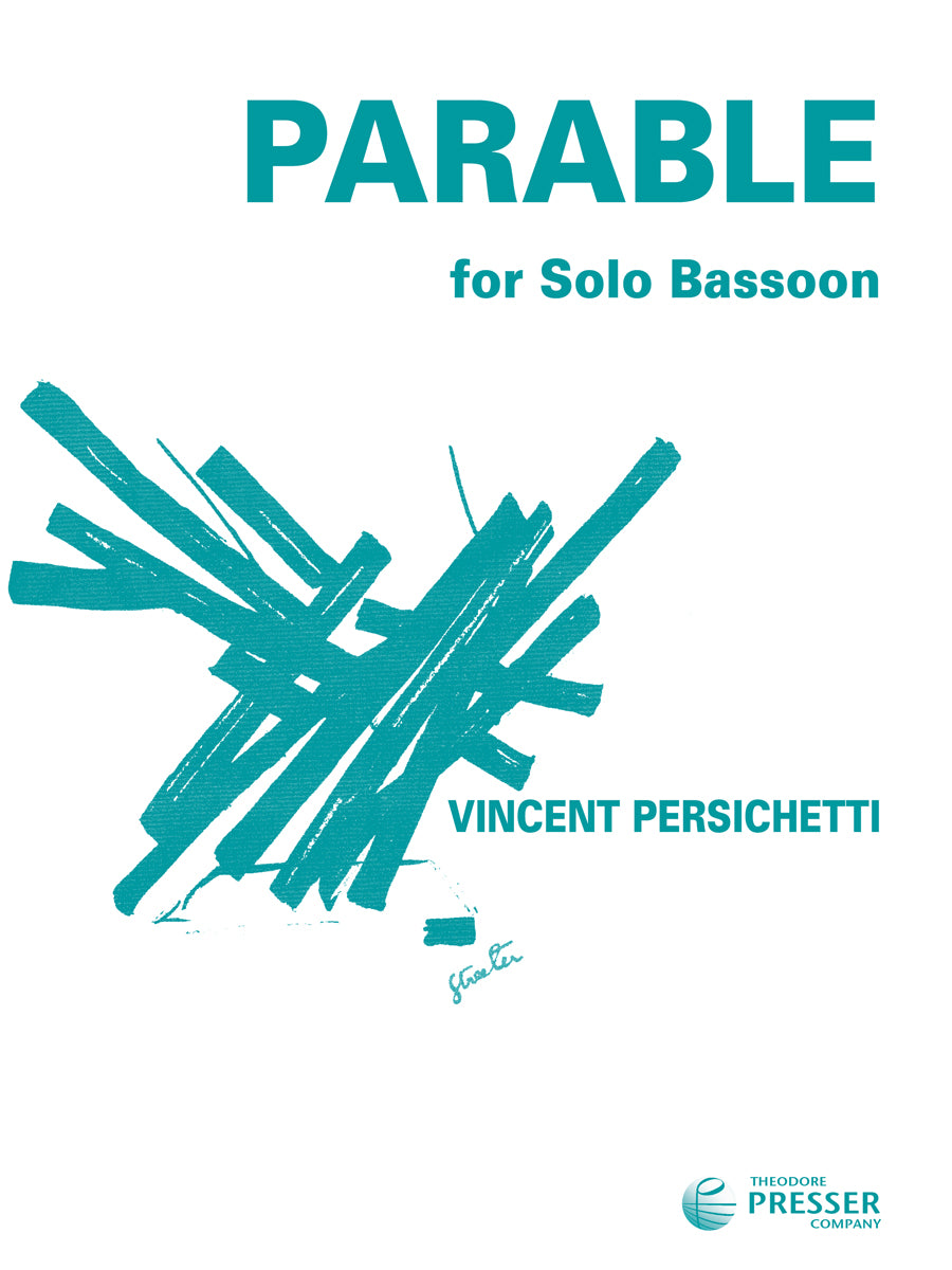 Persichetti: Parable IV for Solo Bassoon, Op. 110