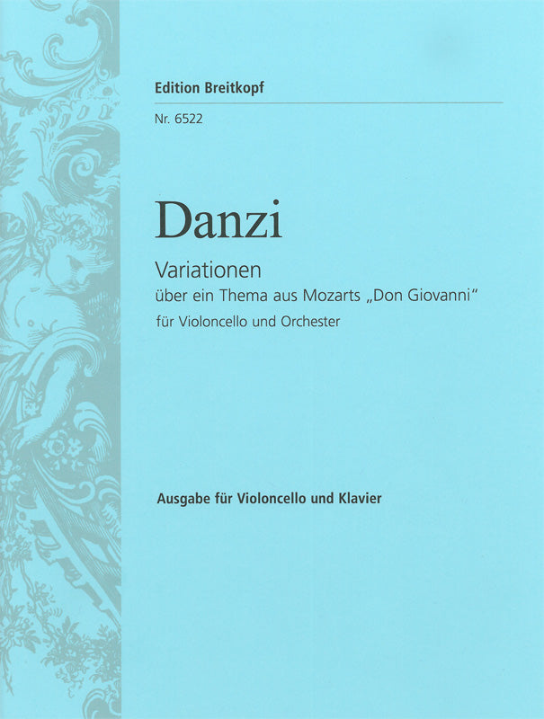 "Danzi: Variations on a Theme from ""Don Giovanni"""