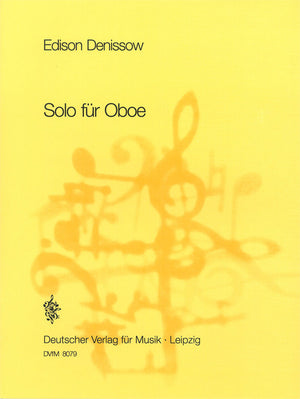 Denisov: Solo for Oboe